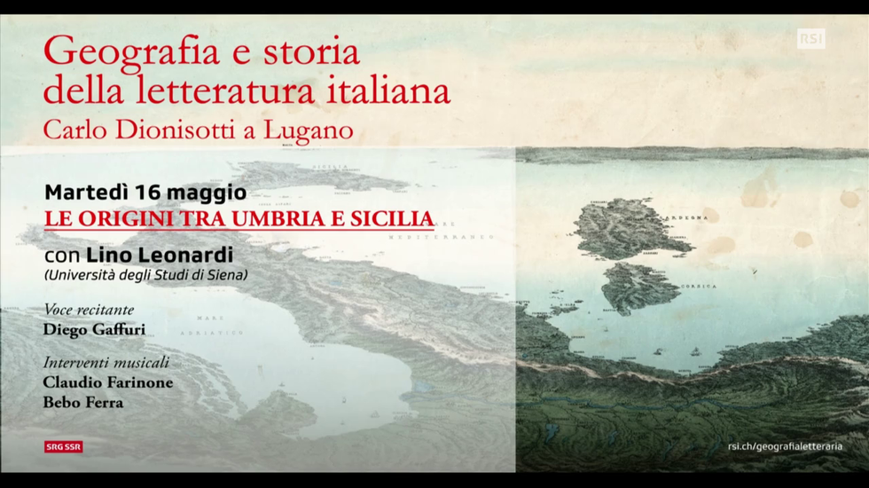 STREAMING: UMBRIA E SICILIA