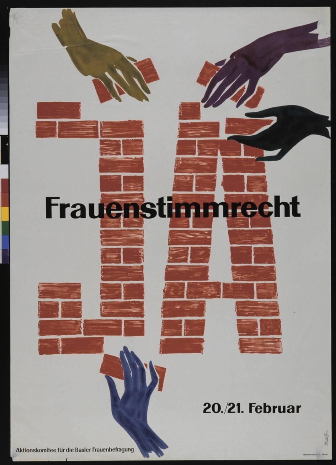 Manifesto dei sostenitori del suffragio femminile