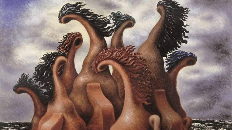 Alberto Savinio, Bataille de Centaures, 1930