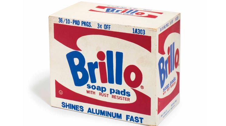 Andy Warhol, Brillo Soap Pads Box, 1969