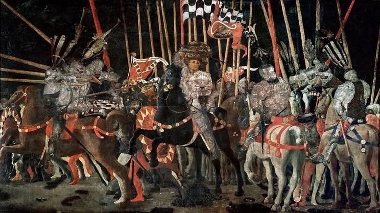 Battaglia di San Romano (Parigi, Louvre)