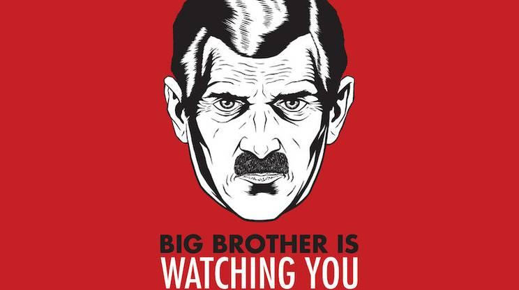 Nel romanzo '1984' il Grande Fratello aveva i tratti di Stalin.