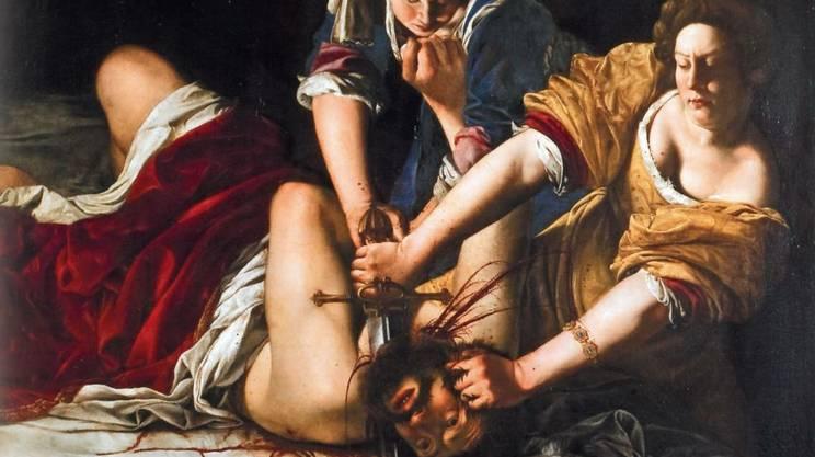 Giuditta che decapita Oloferne (1620-1621)