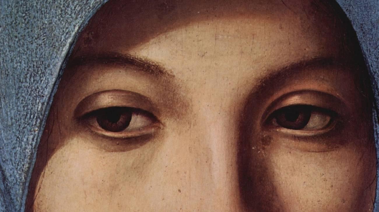 Antonello da Messina, L'Annunciata, 1476 (part.)