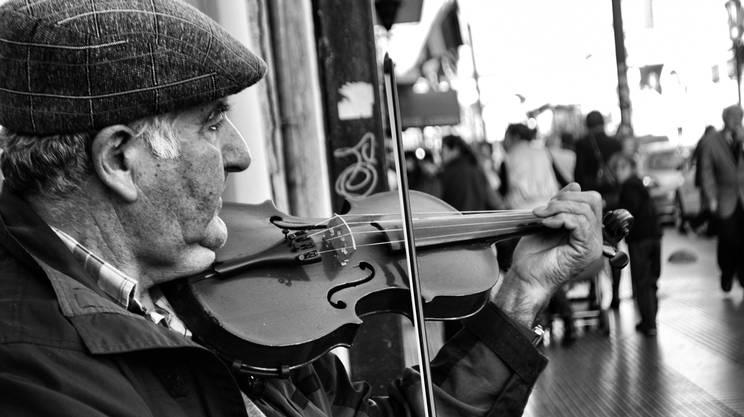 Metti un fungo nel violino...