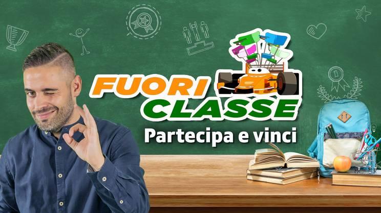 FuoriClasse: il nuovo programma con Nicolò Casolini. Partecipa e vinci!