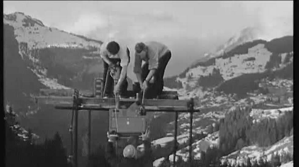 Discesa di Wengen, il servizio sull'evoluzione delle immagini televisive (13.01.2018)