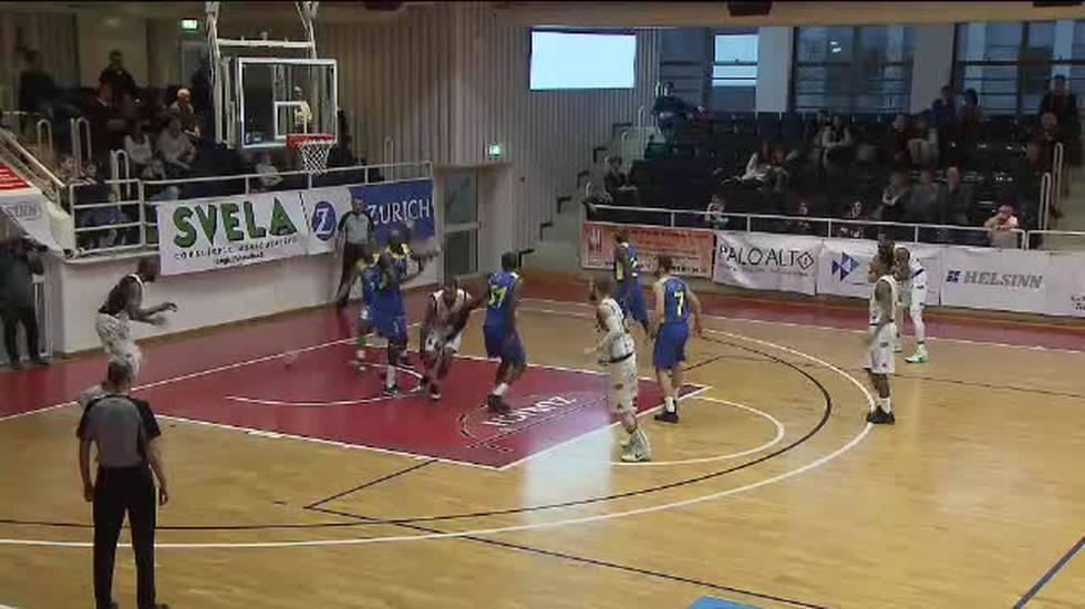 Basket, il servizio su Lugano - Riviera Lakers (Sportsera 03.02.2018)