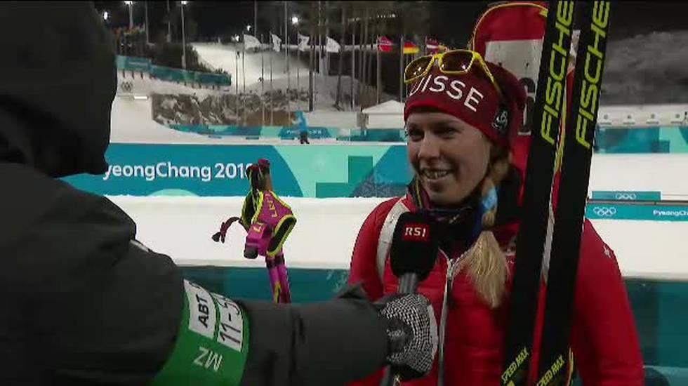 PyeongChang 2018, l'intervista a Lena Häcki (12.02.2018)