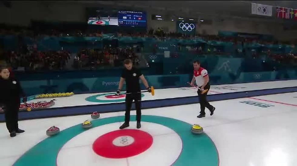 PyeongChang 2018, il servizio sulla semifinale di curling Svizzera - OAR (12.02.2018)