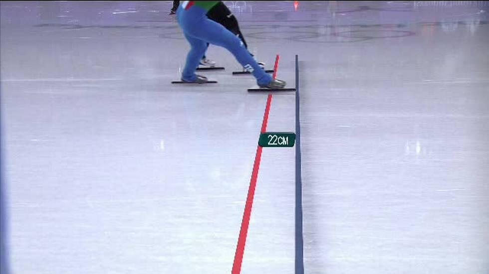 PyeongChang 2018, l'arrivo dei 500m femminili di short track (13.02.2018)