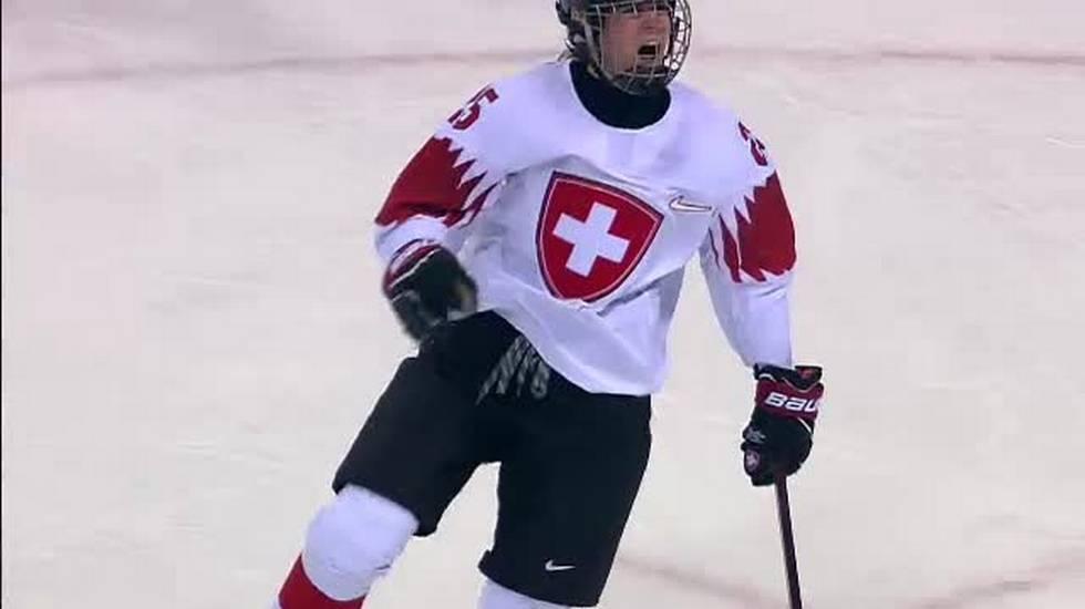 PyeongChang 2018, le reti di Svizzera - Svezia (14.02.2018)