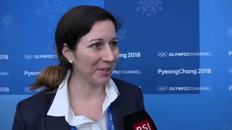 PyeongChang 2018, l'intervista a Daniela Diaz (14.02.2018)