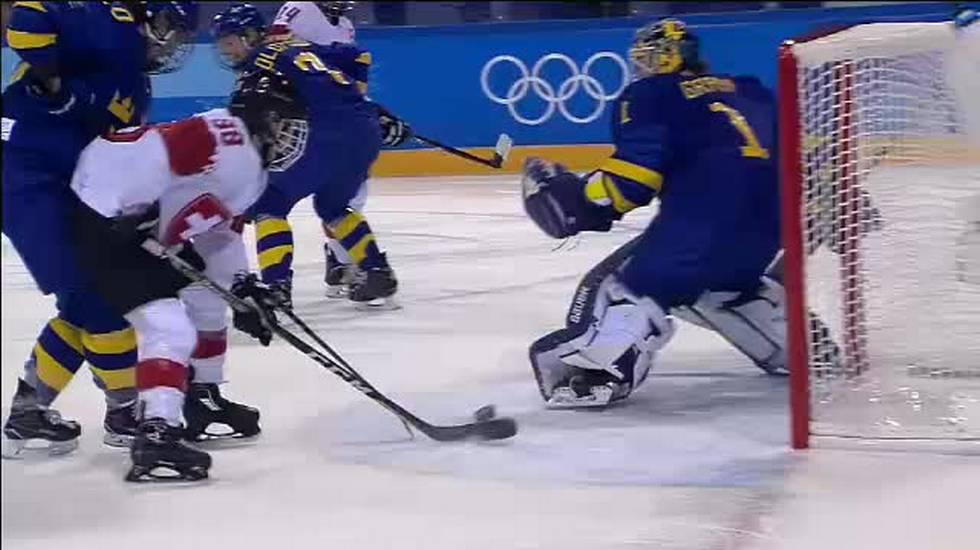 PyeongChang 2018, il servizio su Svizzera - Svezia di hockey femminile (14.02.2018)