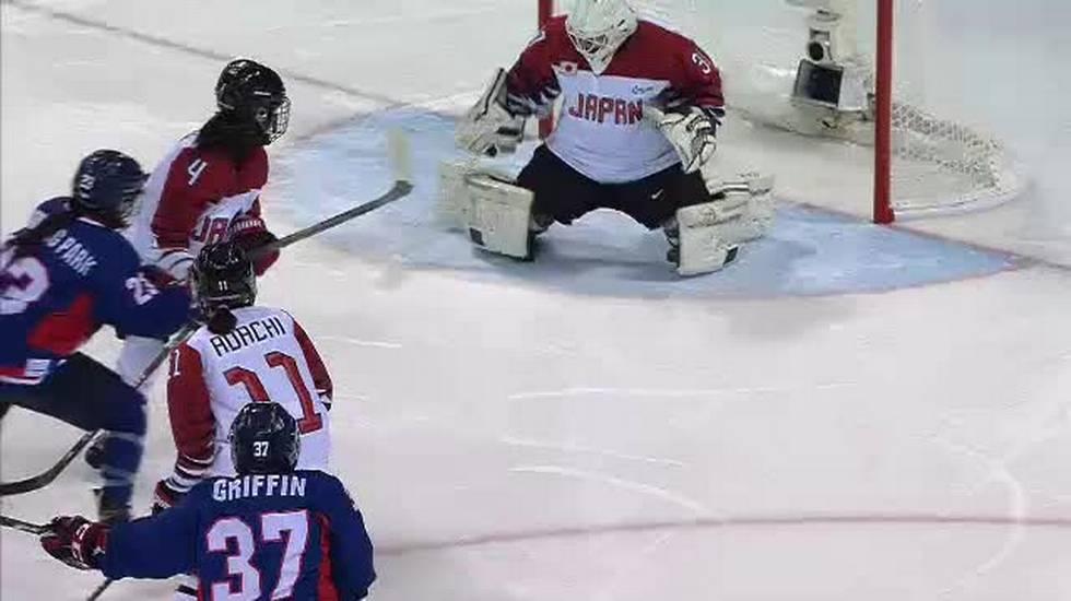 PyeongChang 2018, il primo storico gol delle Coree nell'hockey alle Olimpiadi (14.02.2018)