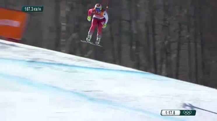 La discesa valsa il bronzo olimpico a Beat Feuz