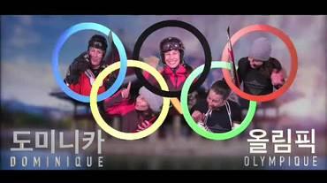 """Dominique Olympique, il """"best of"""" (Korea della sera 25.02.2018)"""