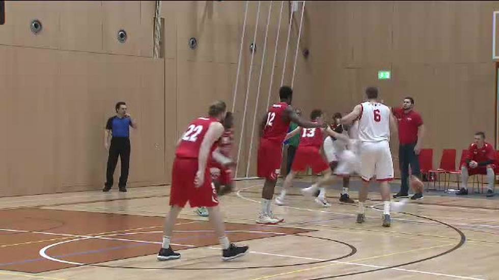 Basket, il servizio su Sam Massagno - Swiss Central (La Domenica Sportiva 04.03.2018)