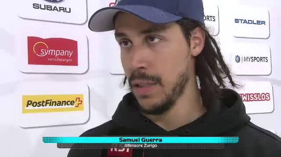 Finale playoff, l'intervista a Samuel Guerra (14.04.2018)
