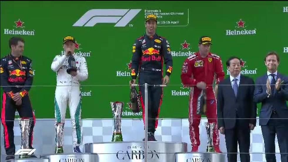 GP della Cina, il servizio sulla vittoria di Daniel Ricciardo (15.04.2018)