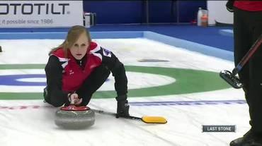 Curling, il servizio sull'oro iridato svizzero nel doppio misto (Sportsera 28.04.2018)
