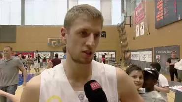 SBL playoff, le interviste a Roberto Kovac e Westher Molteni (Sport Non Stop 13.05.2018)