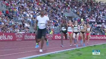 Diamond League Oslo, gli 800m femminili con Selina Büchel (07.06.2018)