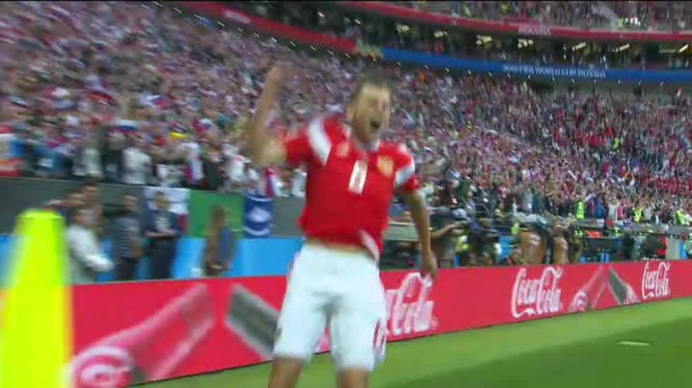 Mondiali, highlights di Russia - Arabia Saudita (14.06.2018)