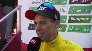 Tour de Suisse, l'intervista a Richie Porte (16.06.2018)