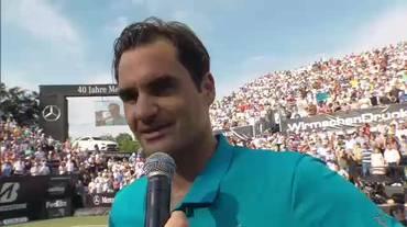 ATP Stoccarda, l'intervista a Roger Federer (16.06.2018)