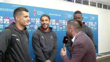 Mondiali, le interviste a Zakaria, Rodriguez e Xhaka (Russo ma non dormo 17.06.2018)