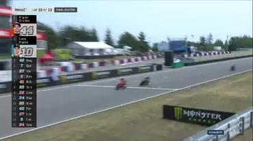 Moto2, le fase finali del GP di Repubblica Ceca (05.08.2018)