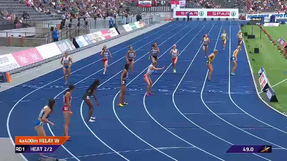 European Championships, il cambio errato dell'Ucraina (10.08.2018)