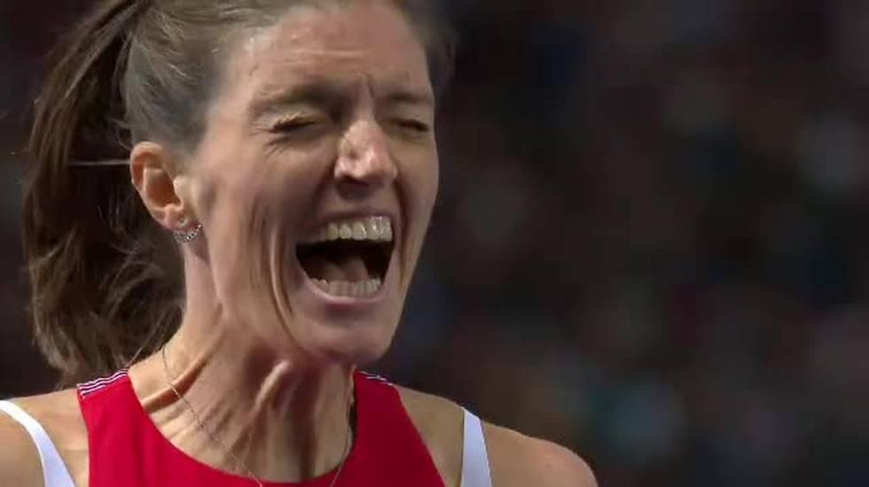European Championships, la finale dei 400m hs vinta da Lea Sprunger (10.08.2018)