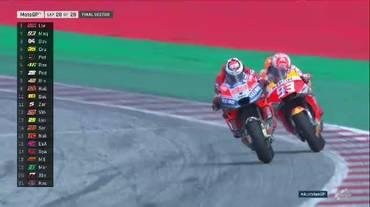 MotoGP, la volata del GP d'Austria tra Lorenzo e Marquez (12.08.2018)