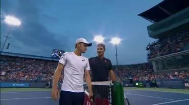 ATP Cincinnati, il servizio su Federer - Goffin (Telegiornale 19.08.2018, 12h30)