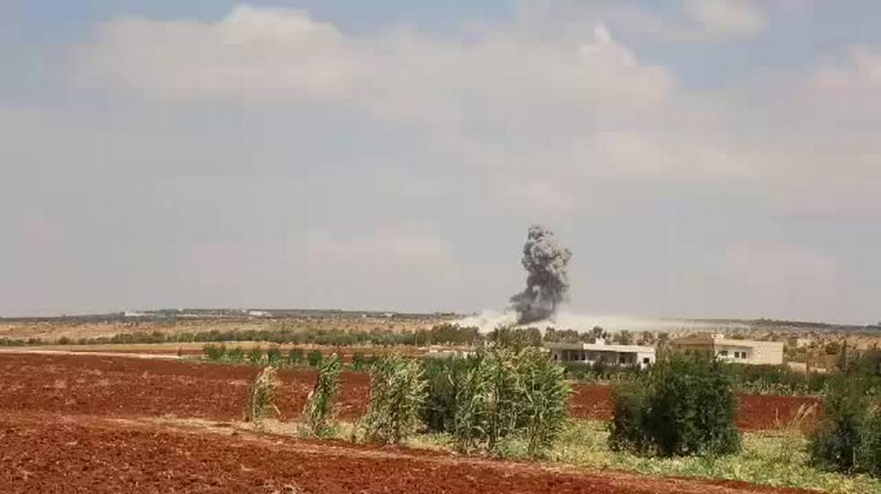 08.09.2018: Idlib, ancora attacchi