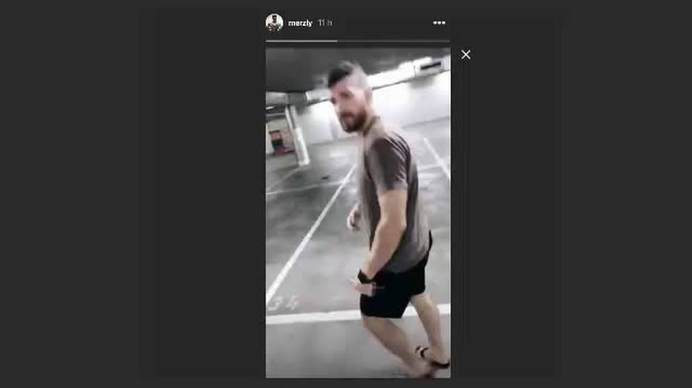 NL, il video Instagram di Merzlikins e Sannitz (08.09.2018)