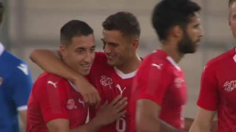 Europei U21, le reti di Svizzera - Liechtenstein (11.09.2018)