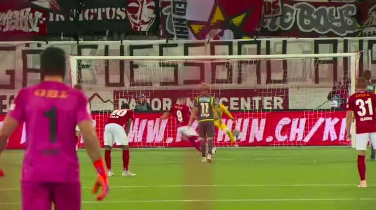 Sorgic firma il gol numero 8'000 in Super League