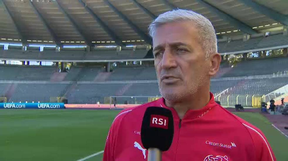 Nations League, l'intervista a Vladimir Petkovic (11.10.2018)