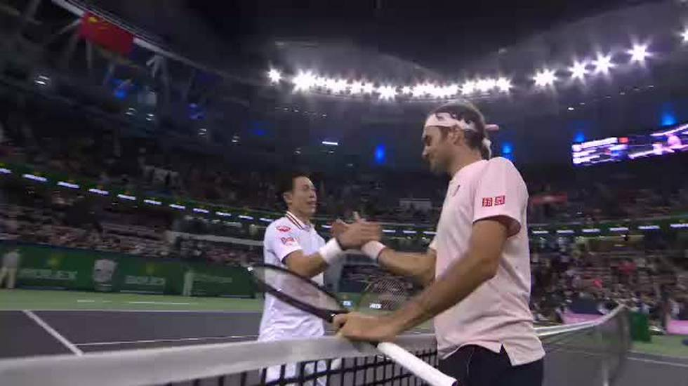 Masters 1000 Shanghai, il servizio su Federer - Nishikori (Sport Sera 12.10.2018)
