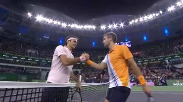 Maasters 1000 Shanghai, highlights di Federer - Coric (13.10.2018)