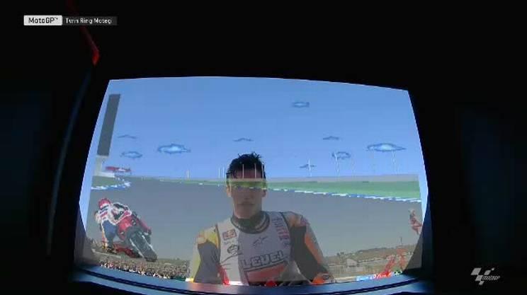 La festa di Marc Marquez per il quinto titolo in Moto GP