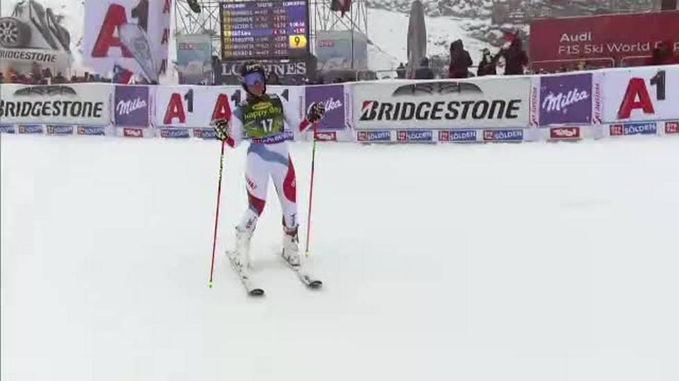 Gigante di Sölden, la prima manche di Lara Gut (27.10.2018)