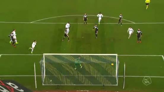 Bianconeri salvati dal palo nel recupero