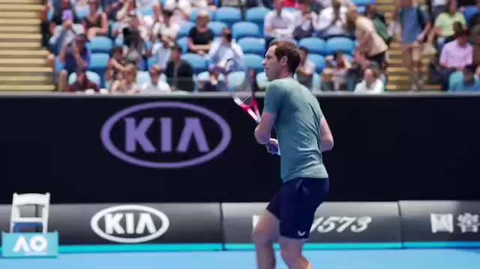 Australian Open, il servizio sul ritiro di Murray (Telegiornale 11.01.2019, 12h30)