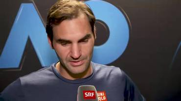 Australian Open, l'intervista a Roger Federer (La Domenica Sportiva 20.01.2019)