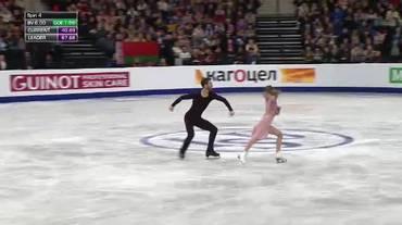 Europei di Minsk, la Free Dance di Gabriella Papadakis e Guillaume Cizeron (26.01.2019)