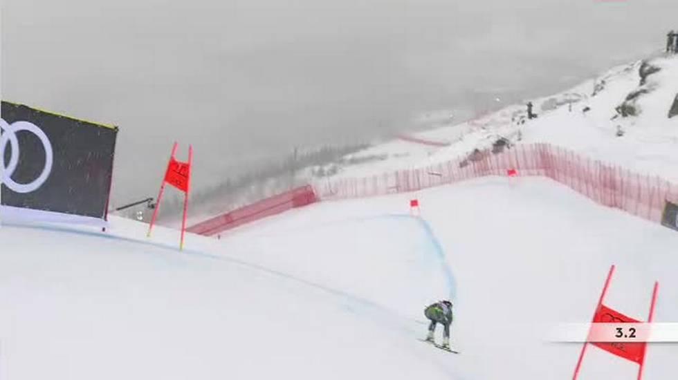 Mondiali di Are, la discesa di Ragnhild Mowinckel valida per la combinata (08.02.2019)